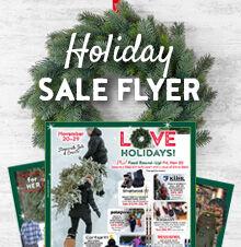 Holiday Specials Flyer 2020