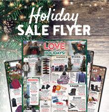 Holiday Specials Flyer 2018