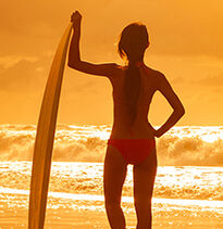 Up to 20% Off Select Beach & Surf Apparel!