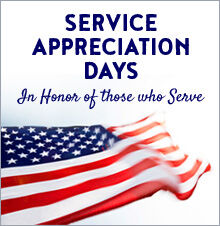 Service Appreciation Days 2021