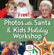 Free Photos with Santa & Kids Workshop