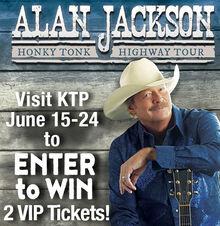 Enter to Win Alan Jackson Concert Tickets!