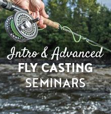 Beginner & Advanced Fly Casting Seminars - 2019