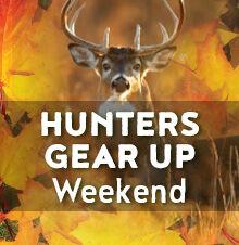Hunters Gear Up Weekend
