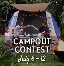 Campout in your Backyard Contest!