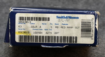 SMITH & WESSON 63-3 PRE OWNED