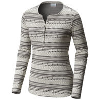 Columbia Women's Aspen Lodge Jacquard Long-Sleeve Henley