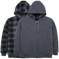 Oscar Sports Men's Reversible Fleece-Lined Sweatshirt
