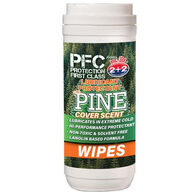 PFC Lubricant Protectant w/ Pine Cover Scent Gun Wipes