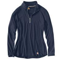 Carhartt Women's Force Performance Quarter-Zip Long-Sleeve Shirt