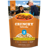 Zuke's Crunchy Naturals 10s Baked w/ Peanut Butter & Bananas Dog Treat - 9 oz.
