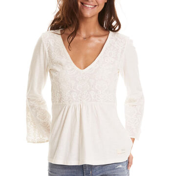 Odd Molly Womens Darling Long-Sleeve Top