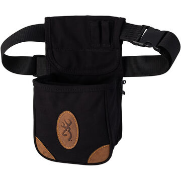 Browning Lona Canvas / Leather Shell Pouch