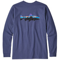 Patagonia Men's Fitz Roy Trout Responsibili-Tee Long-Sleeve T-Shirt