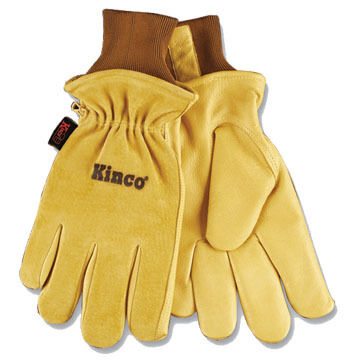 Kinco Men's Lined Pigskin Glove