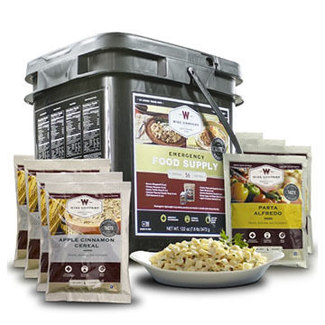 Wise 56 Serving Emergency Food Supply Grab & Go Food Kit