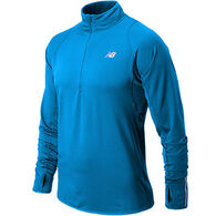 New Balance Men's Heat Half-Zip Long-Sleeve Top