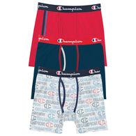 Champion Men's Everyday Comfort Stretch Boxer Brief, 3/pk