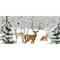 LPG Greetings Deer Christmas Glitter Boxed Christmas Cards