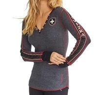 Alp-n-Rock Women's Zermatt Long-Sleeve Henley Shirt