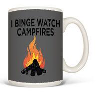 Earth Sun Moon Binge Watch Campfires Mug