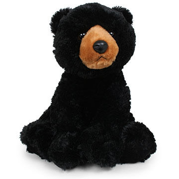 Aurora Black Bear 14 Plush Stuffed Animal