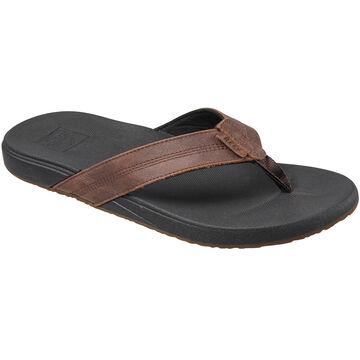 Reef Mens Cushion Bounce Phantom LE Leather Sandal