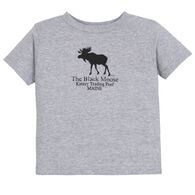 Original Design Toddler Kittery Trading Post Black Moose Short-Sleeve T-Shirt
