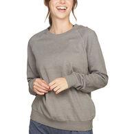 Colosseum Women's Chloe Crewneck Long-Sleeve Sweatshirt