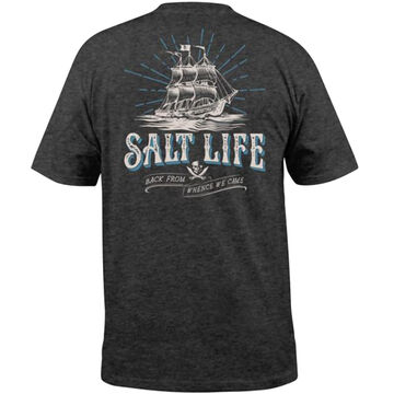 Salt Life Mens Back From Whence We Came Short-Sleeve T-Shirt