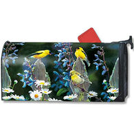 MailWraps Finch Fencepost Magnetic Mailbox Cover