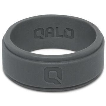 Qalo Mens Step Edge Q2X Silicone Ring