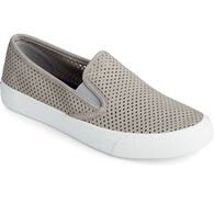 Sperry Women's Crest Twin Gore Perforated Leather Slip On Sneaker