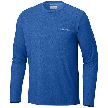 Columbia Mens Big & Tall Thistletown Crew Neck Long-Sleeve Shirt