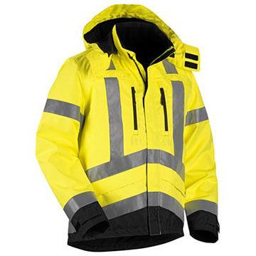 Blaklader Mens Hi-Vis Shell Jacket