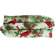 Maine Balsam Fir Winter Cardinals Draft Stopper
