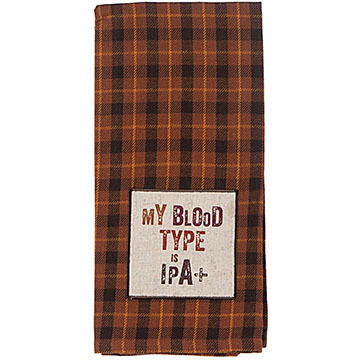 Kay Dee Designs IPA Applique Tea Towel