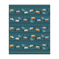 Wilcor Home Is Where You Park It Fleece Blanket