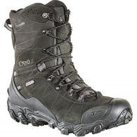 "Oboz Men's Bridger 10"" Waterproof BDry Insulated Hiking Boot, 400g"