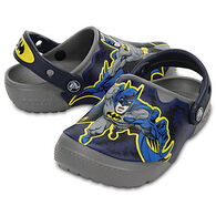 Crocs Boys' & Girls' Fun Lab Lights Batman Clog