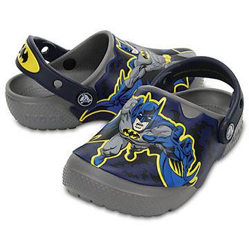 Crocs Boys' & Girls' Fun Lab Lights Batman Clog