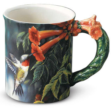 Wild Wings Summer Hummingbird Mug