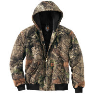 Carhartt Men's Camo Quilted Flannel-Lined Active Jac