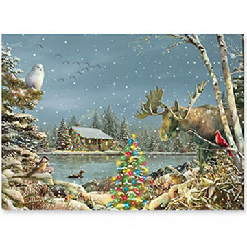 Cape Shore Downeast Christmas Boxed Christmas Cards