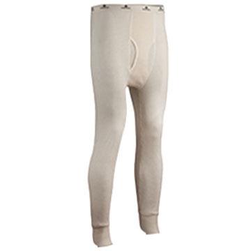 Indera Mills Mens 100% Cotton Waffle Knit Baselayer Pant