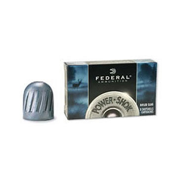 "Federal Power-Shok 20 GA 2-3/4"" 3/4 oz. Rifled Slug Ammo (5)"