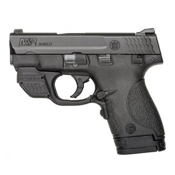Smith & Wesson M&P9 Shield Crimson Trace Green Laserguard 9mm 3 7-Round Pistol