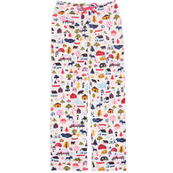 Hatley Women's Cute Cottage Pajama Pant