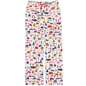 Hatley Womens Cute Cottage Pajama Pant