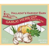 Halladay's Harvest Barn Garlic Herb Dip & Cooking Blend